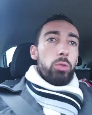 Julien Terrier, le leader des gilets jaunes sur l'agglomération grenobloise. Copie d'écran
