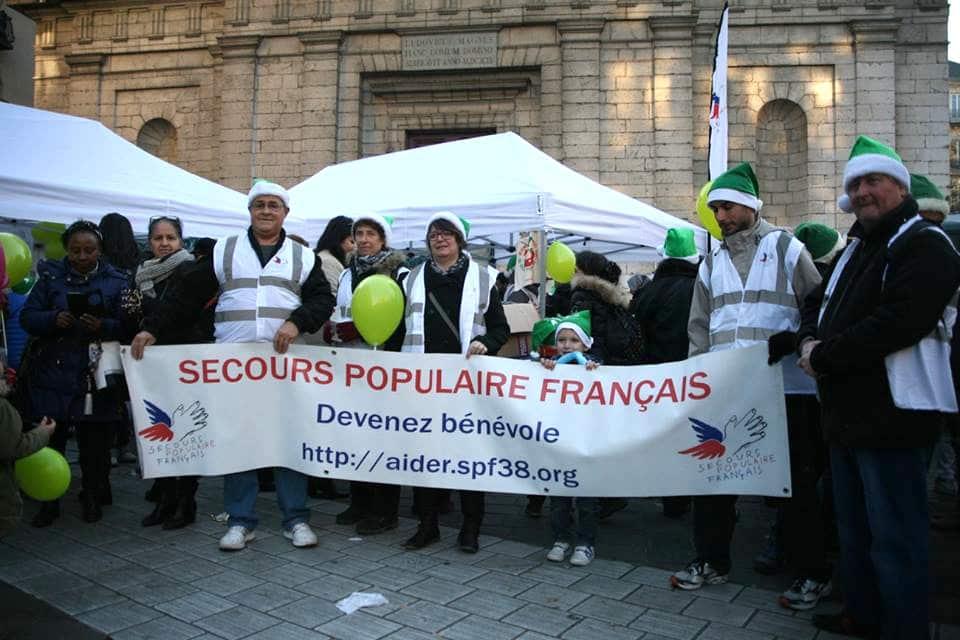 Comme tous les ans, le Secours Populaire lance un appel aux dons et au bénévolat © Florent Mathieu - Place Gre'net