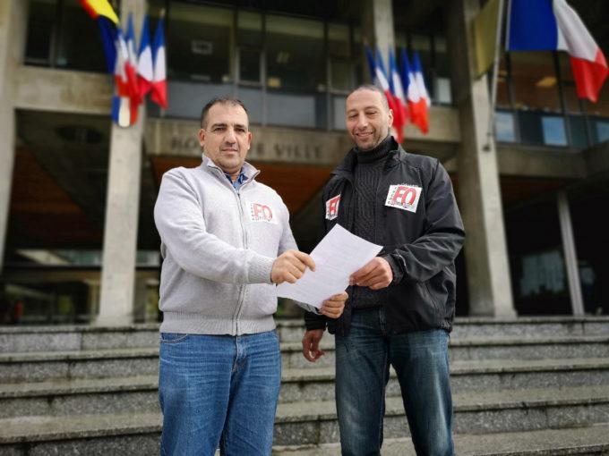 Chérif Boutafa et Sid Hamed Beldjenna. © Joël Kermabon - Place Gre'net