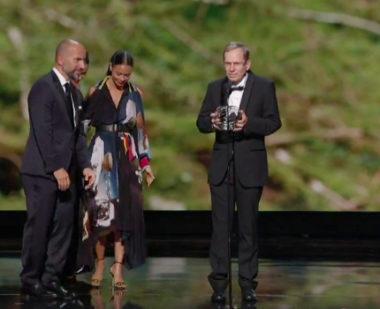 Le mathématicien grenoblois Vincent Lafforgue a reçu le prix Breakthrough 2019 de mathématiques pour ses travaux sur le programme de Langlands.Capture d'écran du film de présentation de Vincent Lafforgue lors du Live 2019 Breakthrough Prize