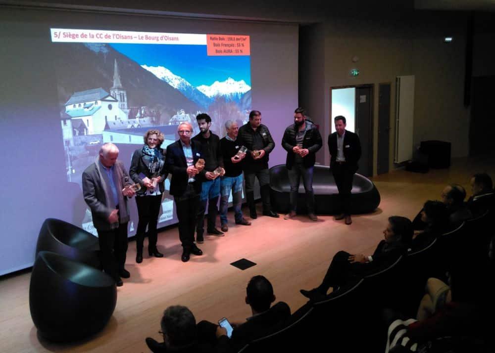 La Communauté de communes de l'Oisans reçoit le Prix construction bois pour son nouveau siège © Florent Mathieu - Place Gre'net