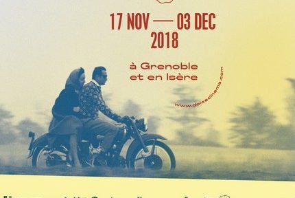 La douzième édition des Rencontres du cinéma italien de Grenoble se déroulent du 17 novembre au 3 décembre 2018 dans nombre d'espaces du bassin grenoblois.