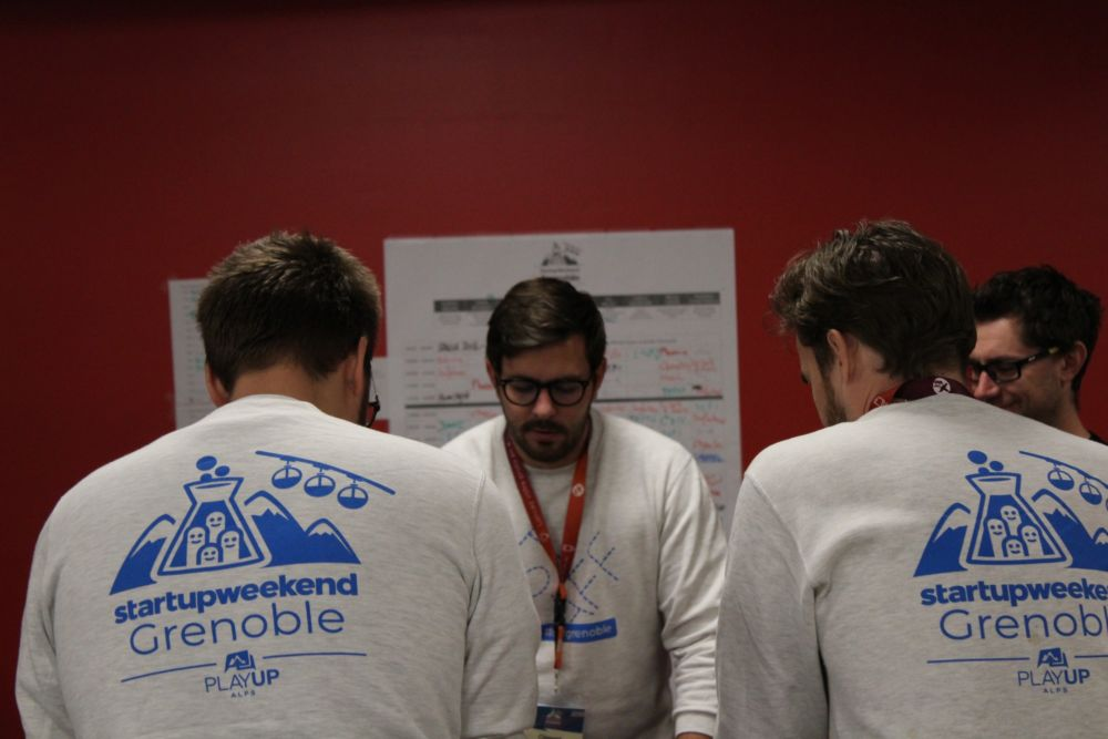 Startup Weekend 2018 © Sacha Magnani - Place Gre'net