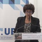 Frédérique Vidal, ministre de l'enseignement supérieur, de la recherche et de l'innovation. © Joël Kermabon - Place Gre'net