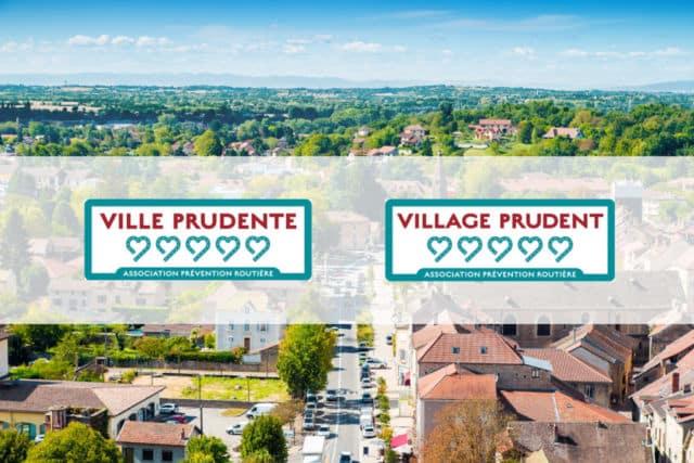 Visuel Ville prudente et Village prudent © Prévention routière
