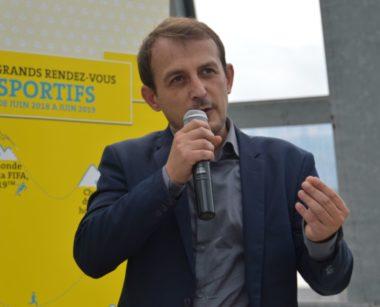 Yannick Belle, vice-président de la Métropole délégué au sport et à la lutte contre les discriminations. © Laurent Genin