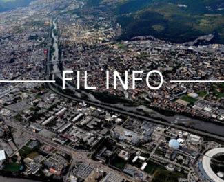 Fil Info Métropole grenobloise, vue aérienne DR