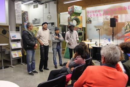 La compagnie Madior a animé la soirée Regards Croisés dans le quartier Mistral mardi 20 novembre