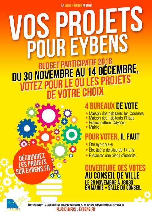 Budget participatif d'Eybens © Eybens