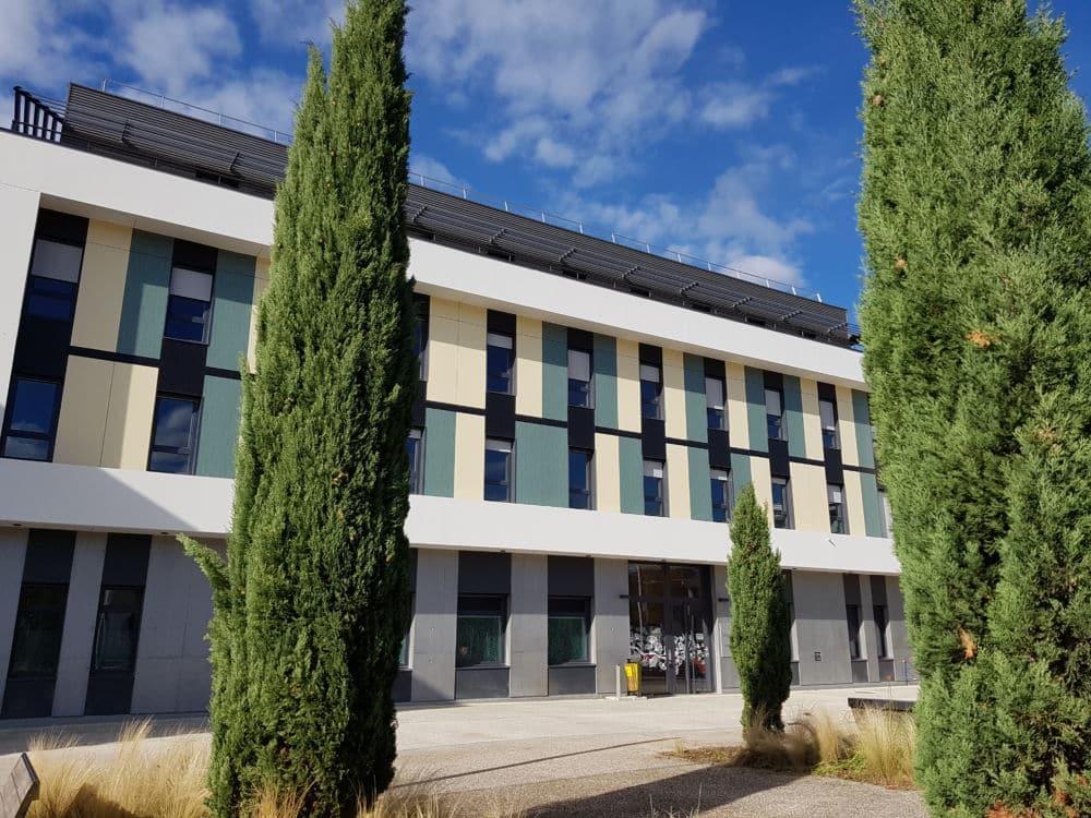 Le nouveau Centre ambulatoire de santé mentale de Saint-Martin-d'Hères regroupe sur un même site des acteurs de santé pour un suivi renforcé du patient.Le CASM © Chai de Saint-Égrève