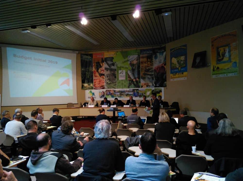 La FDSEA conserve la majorité à la Chambre d'agriculture de l'Isère. Session de la Chambre d'agriculture de l'Isère du vendredi 23 novembre 2018 © Florent Mathieu - Place Gre'net