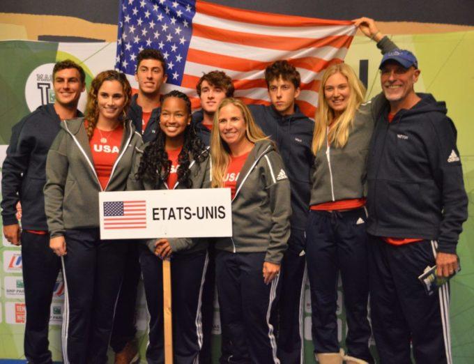 Les universitaires américains ont remporté le 13e Master'U BNP Paribas aux dépens de leurs homologues britanniques qui les avaient battus en finale en 2017. © Laurent Genin