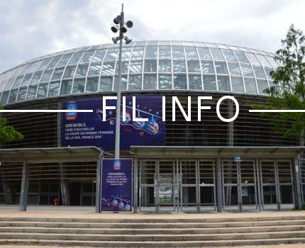 Le stade des Alpes à Grenoble va accueillir quatre matchs du premier tour un huitième de finale de la Coupe du monde de football féminine en juin 2019. © Laurent Genin