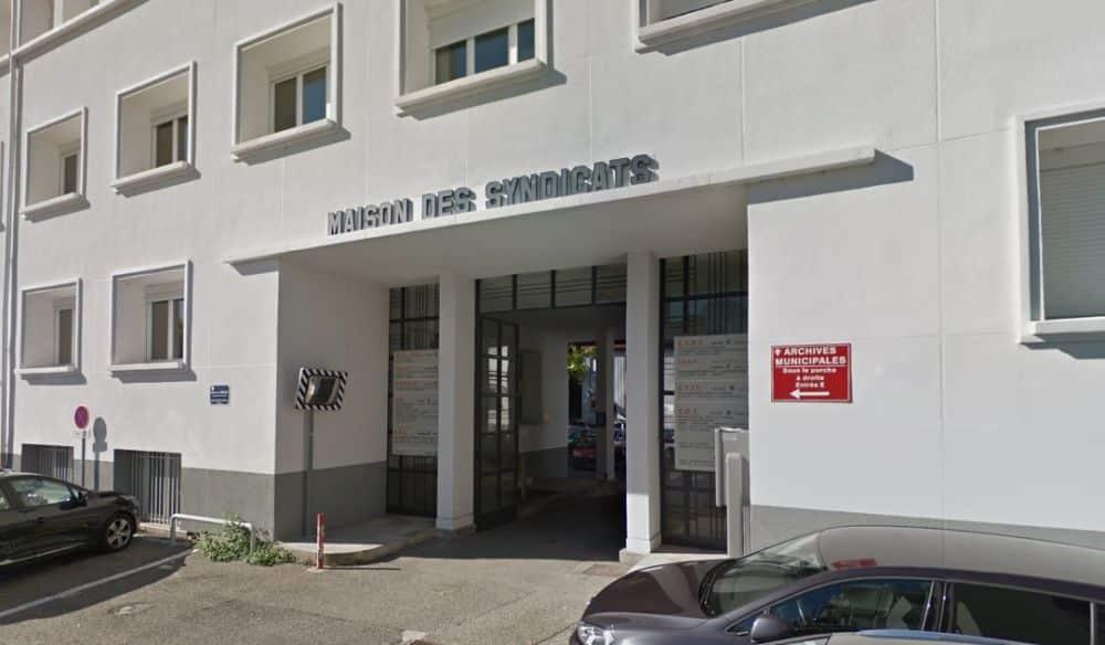 La Maison des syndicats de Chambéry © Google Maps