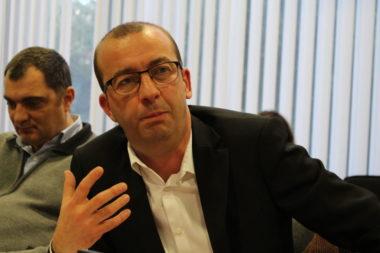 Matthieu Chamussy lors du conseil municipal du 17 décembre 2018. © Place Gre'net