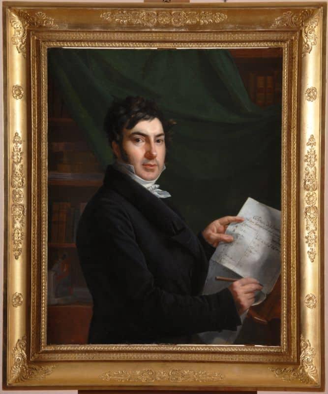 Portrait de Jean-François Champollion © Musée Champollion
