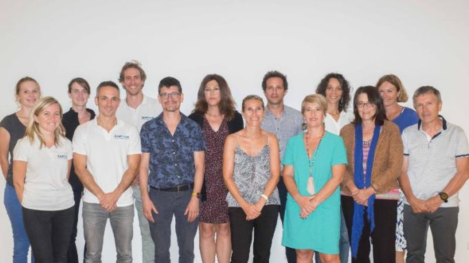 L'équipe bariatrie de la clinique des Cèdres avec Fabien Sténard (au premier rang, deuxième à gauche). © Clinique des Cèdres