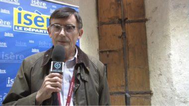 Patrick Curtaud, vice-président à la culture du département de l'isère. © Joël Kermabon - Place Gre'net