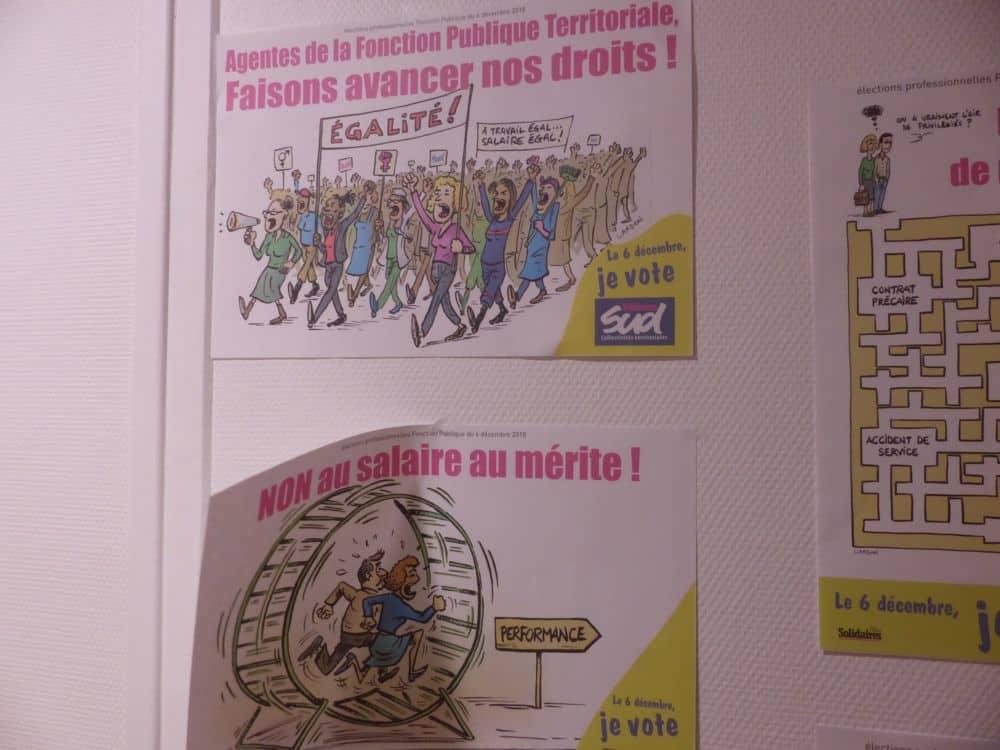 Une déco aux couleurs de Solidaires © Florent Mathieu - Place Gre'net