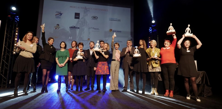 Les lauréates des Trophées Les Femmes de l'économie Auvergne-Rhône-Alpes 2018 © Les Femmes de l'économie