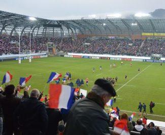Victoire de l'équipe de France féminine de rugby face à la Nouvelle-Zélande (30-27) le 17 novembre 2018 au stade des Alpes. © Laurent Genin
