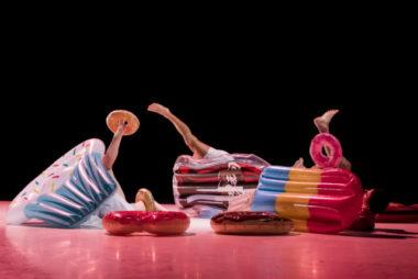 De la danse pour tous les âges - Hexagone du 11 au 13 décembre. H&G est une relecture du conte Hansel et Gretel version condamnation de la malbouffe.H&G © Fabienne Gras