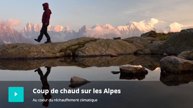 Webdoc Coup de chaud sur les Alpes : au cœur du réchauffement climatique