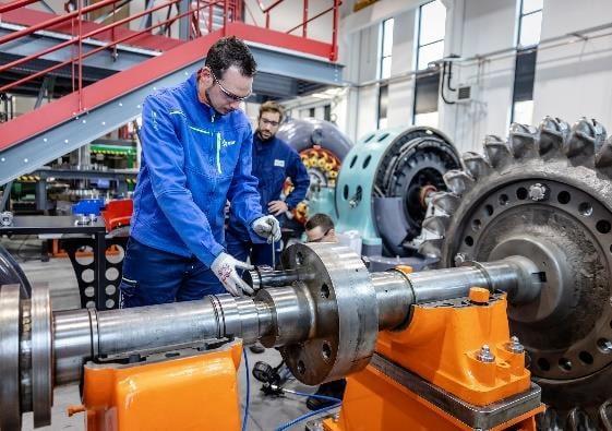 Campus des métiers de l'hydraulique d'EDF © EDF Hydro
