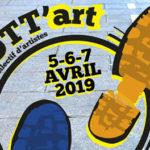 Trott'art est un collectif de créateurs qui propose une déambulation artistique dans le quartier des antiquaires de Grenoble. Une première.L'affiche de trott'art. DR
