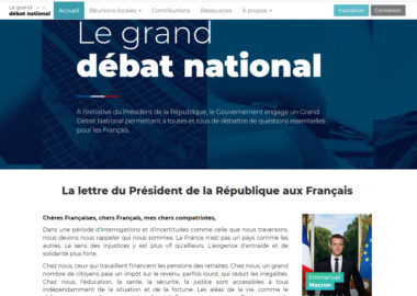 © Grand débat national
