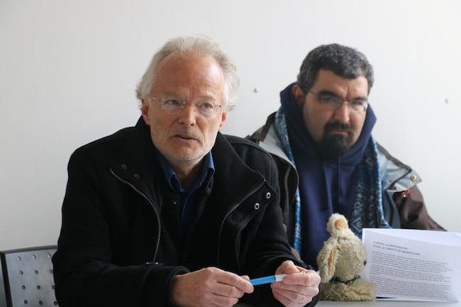 Denis Fabre, président de la Ligue des droits de l'Homme de Grenoble © Patricia Cerinsek - Place Gre'net