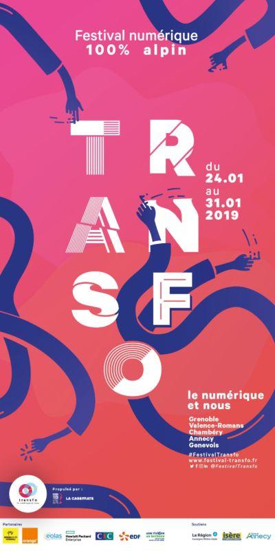 Transfo festival numérique 100% alpin du 24 au 31 janvier 2019