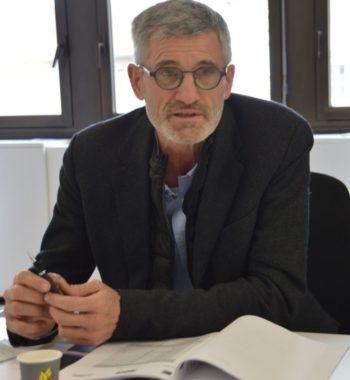 Gilles Moretton, président de la Ligue Auvergne-Rhône-Alpes de tennis. © Laurent Genin