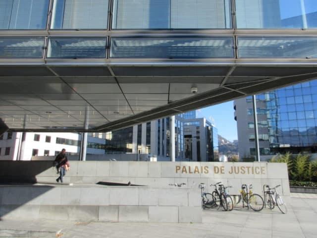 Le Palais de Justice de Grenoble © Elisa Boulloud - Place Gre'net