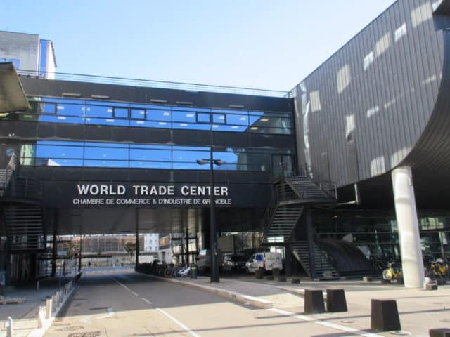 La CCI de Grenoble va intégrer le site du World Trade Center © Elisa Boulloud - Place Gre'net