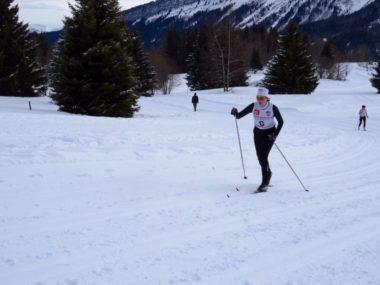L'épreuve de ski de fond pour les femmes se déroule dimanche 3 février sur une distance de 7,5 km. © Handisport Lyonnais