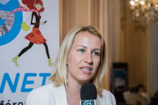 UNE Emilie Chalas, députée LREM © Yuliya Ruzhechka