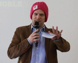 UNE Eric Pierrel coorganisateur de Transfo ©NilsLouna