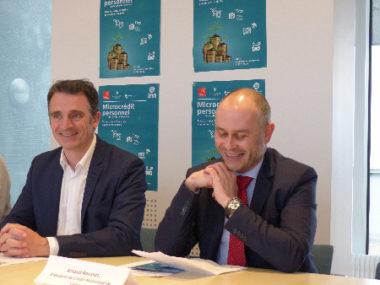 Le maire de Grenoble était également présent pour défendre ce dispositif d'envergure national © quitterie breau