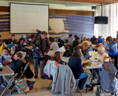 Le premier Repair Cafe ouvre ses portes à Grenoble à l'Ile Verte. © Repair Cafe Grenoble