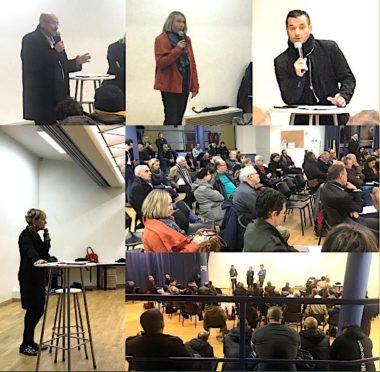 Document extrait du compte-rendu de la réunion organisée le 30 novembre 2018 à la Villeneuve sur l'emploi publié sur le site de la députée LRM Emilie Chalas