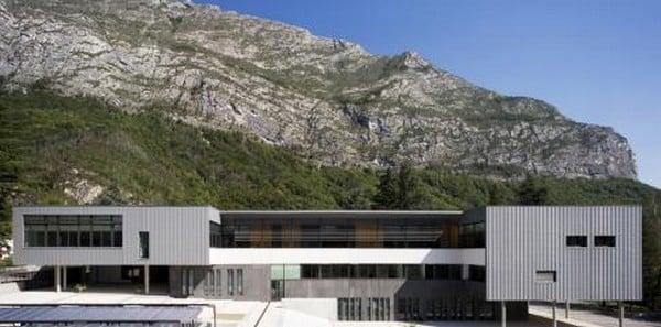 Le collège Barnave de Saint-Égrève © Académie de Grenoble