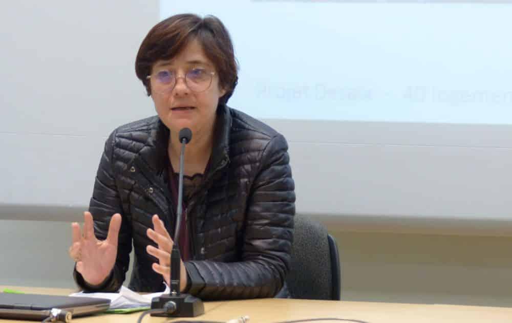 Élisa Martin, première adjointe de Grenoble en charge de la Tranquillité publique © Florent Mathieu - Place Gre'net