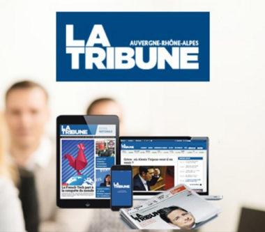 La Tribune Auvergne-Rhône-Alpes, un site web et un hebdomadaire papier. DR