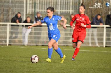 Le GF38 féminin attend désormais le tirage au sort des demi-finales mardi 12 février pour connaître son adversaire. © GF38
