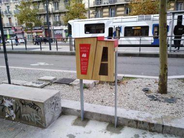 Les boîtes à livres, lauréat du budget participatif 2016 de la Ville de Grenoble DR