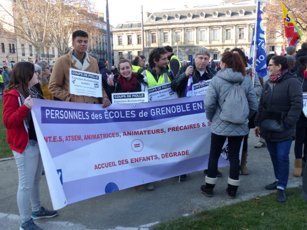 Manifestation du 5 février 2019 à Grenoble © Florent Mathieu - Place Gre'net