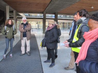 Mobilisation d'agents précaires de la Ville de Grenoble, à l'appel des syndicats FO, Sud et la CNT, mercredi 26 janvier 2019 © Séverine Cattiaux - Place Gre'net
