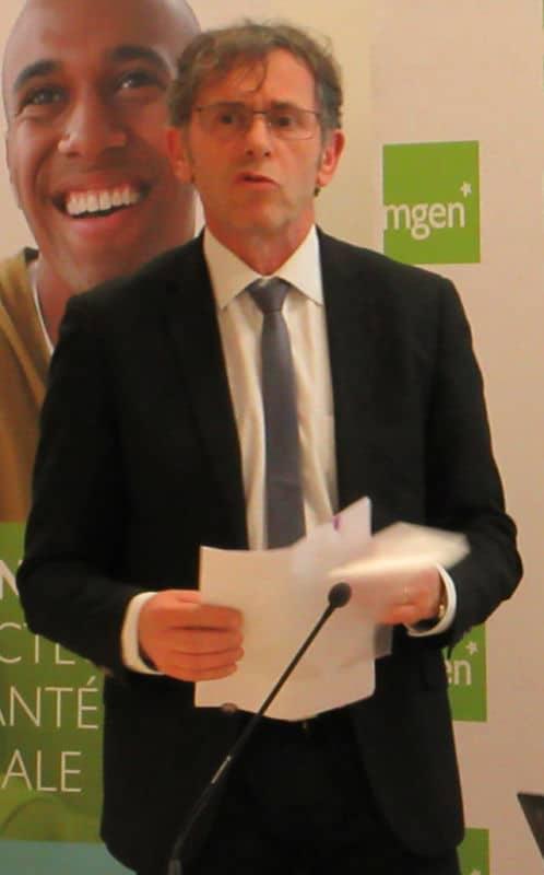 Patrick Lévy, Président de l'UGA. © Charles Thiebaud - Place Gre'net