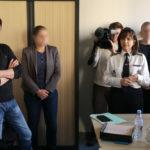 Nadine Le Calonnec lors de la présentation du groupe anti-drogue. © Joël Kermabon - Place Gre'net